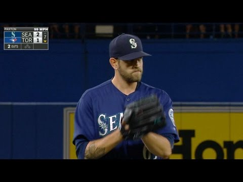 SEA@TOR: Paxton fans nine, holds Blue Jays to one run