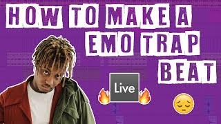 How to Make an Emo Trap Beat In Ableton LIve (Guitar Sampled)
