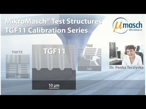 <h3>Product Screencast - Test Structures: TGF11</h3> Presented by Dr. Penka Terziyska <br />Product Manager
