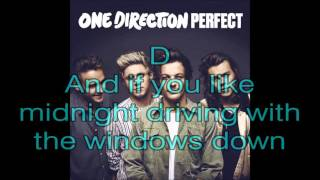 Perfect  - One Direction (Lyrics + Guitar Chord)