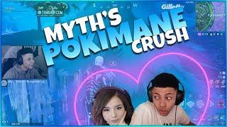 TSM MYTH CALLS POKIMANE HOT!! (Fortnite Funny Fails & Amazing Plays)