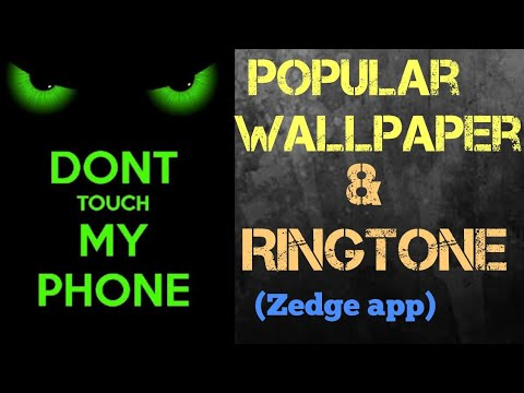 Popular Ringtone and Wallpaper || ZEDGE APP
