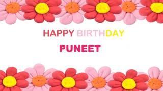 Puneet   Birthday Postcards & Postales - Happy Birthday