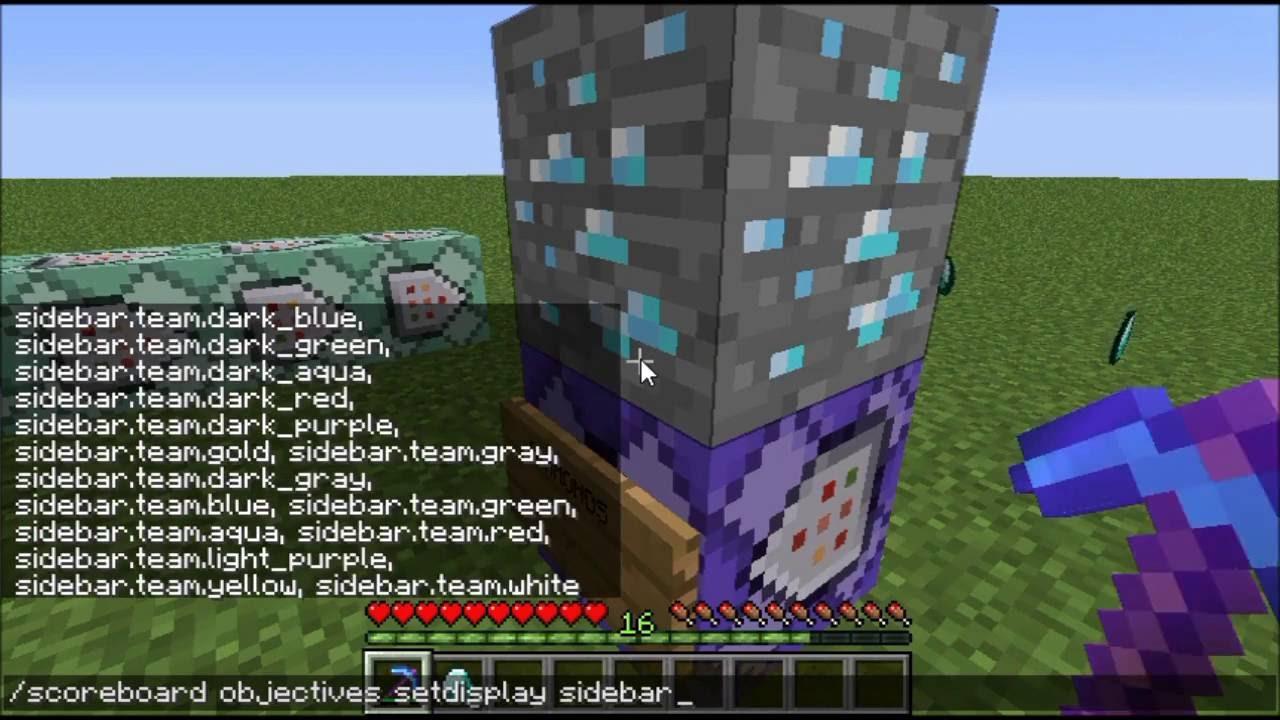 Minecraft  ANTI XRAY DETECTOR  Custom Command Creation