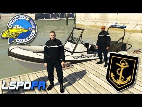 GENDARMERIE MARITIME - Patrouille #1 - LSPDFR GTA 5 MODS