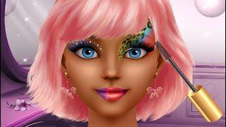 Fun Make Up Girls Games - Super Model Makeup Vs Movie Star Makeup - Kids Dress Up Makeover Games