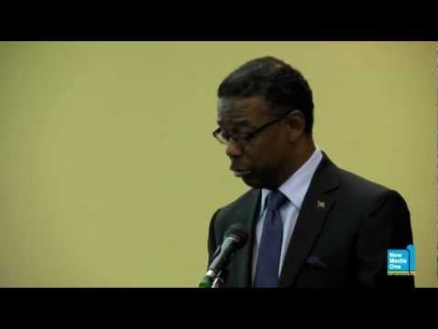 Harold Lovell Statements at the Caribbean Growth Forum