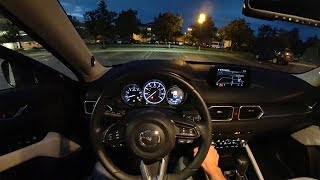 2017 Mazda CX-5 Grand Touring FWD - POV Night Drive