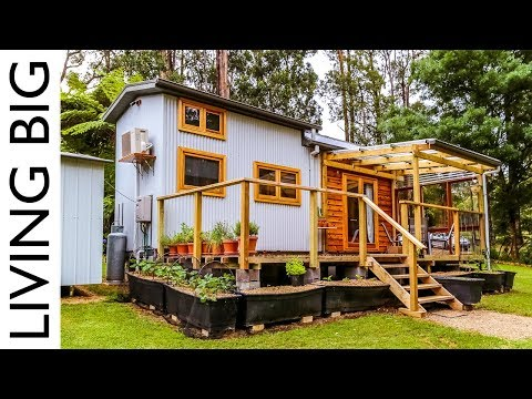 Debt-Free Family Life in a Zero Waste, Plant Based Tiny House