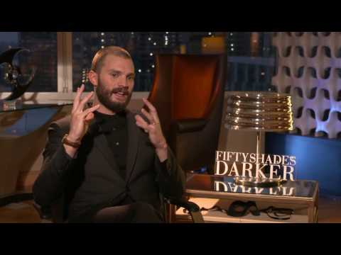 Fifty Shades Darker Interview - Jamie Dornan