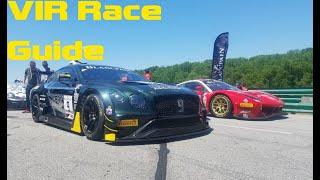 homepage tile video photo for Virginia International Raceway GT Challenge Race Weekend Guide