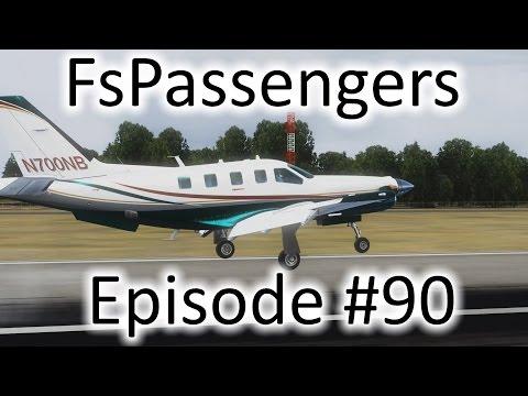 FSX   FsPassengers - Ep. #90 - Freeport to Nassau   TBM 850