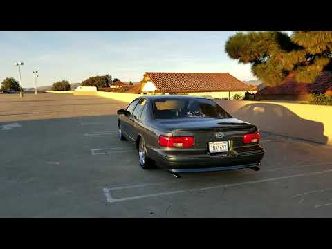 1996 impala SS Exhaust (Drive Off)