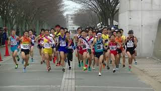 20180127北九州市中学校新人駅伝 男子1区スタート Ekiden Championship in Kita-Kyushu City by 7th-8th Grade Boys (1)