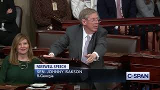 Senator Johnny Isakson Farewell Address