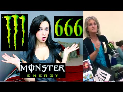 Satan Loves Monster Energy Drinks!!!