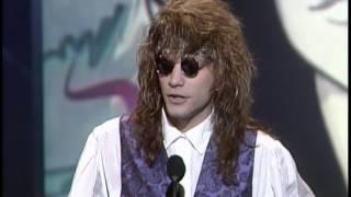 Jon Bon Jovi Wins Pop/Rock Single - AMA 1991