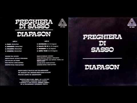 PREGHIERA DI SASSO / DIAPASON (1975)