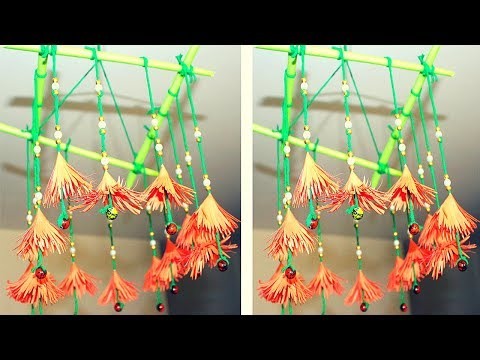 DIY Wind Chimes | How to make wind chimes out of paper | Make wind chimes using paper