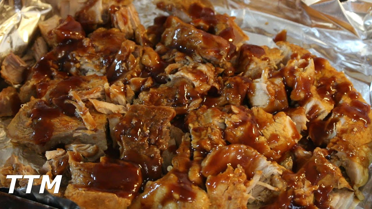 How To Make Easy 2 Hour Pulled Pork~pork Chops In The Toaster Oven