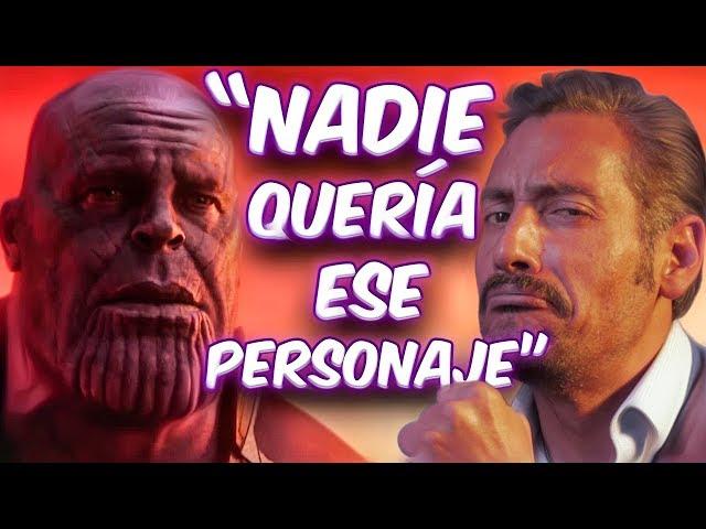 Cómo consiguió ser la voz de Thanos?
