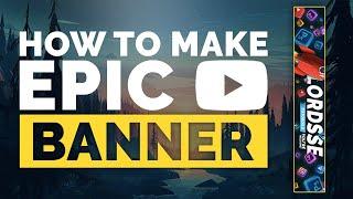 Clean YouTube banner using Photoshop CC/CS6!