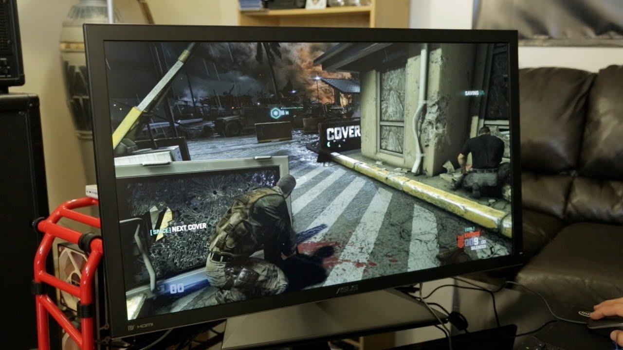 4k Ultra Hd Pc Gaming Splinter Cell Blacklist Asus