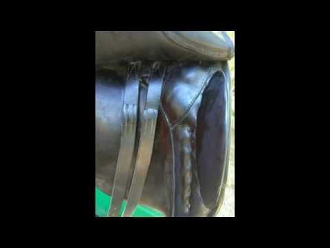 Niedersuss Saddle for Sale, KN Symphonie Used Dressage Saddle 17 S/M