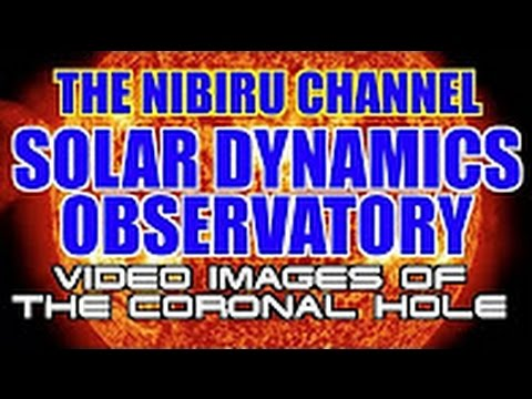 Solar Dynamics Observatory VIDEO IMAGES OF THE SUN AND CORONAL HOLE FACING EARTH