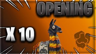 OPENING 10 LAMAS OF CAUCHEMAR - FORTNitE SAUVER THE WORLD