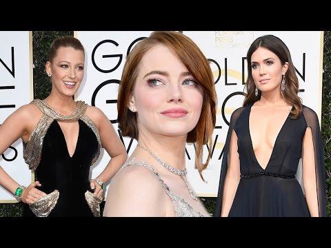 5 Mejores Vestidas de los Globos de Oro 2017