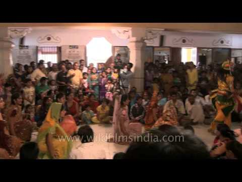 Celebrating Janmashtami with songs and dance