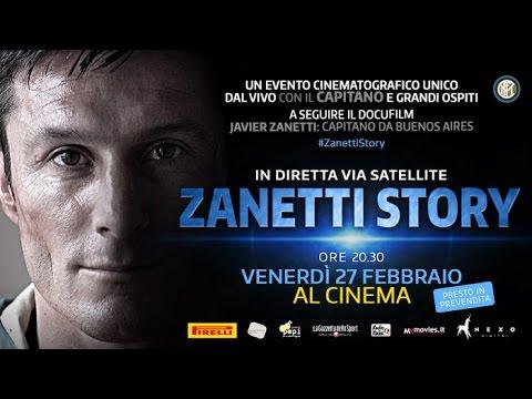 Zanetti vai ganhar documentário sobre a sua carreira; veja o trailer