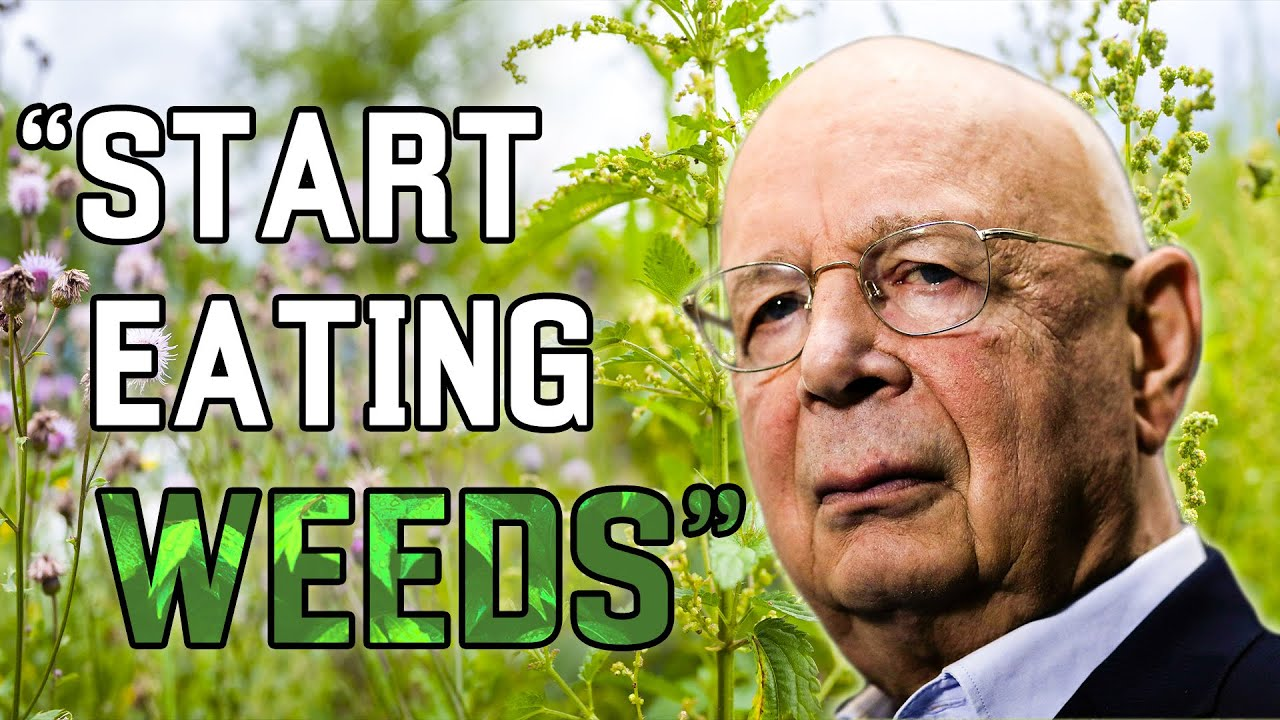 World Economic Forum Globalist Elites Want You To Eat Weeds