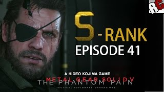 Metal Gear Solid 5: The Phantom Pain - Episode 41 S-RANK (Proxy War Without End)