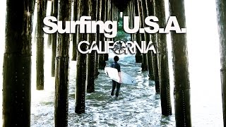 TRAILER Surfing USA : CALIFORNIA - LuzuVlogs