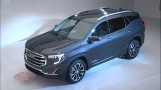 2017 Detroit Auto Show - GMC Debuts New Terrain SUV