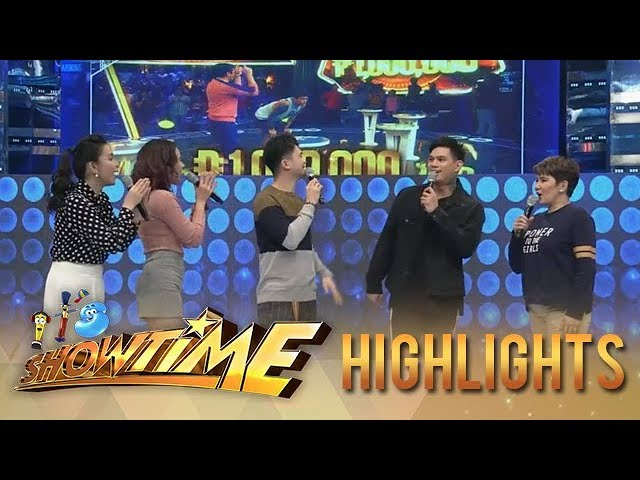 "It's Showtime: ""It's Showtime"" family welcomes the new millionaire, Zeus Collins!"