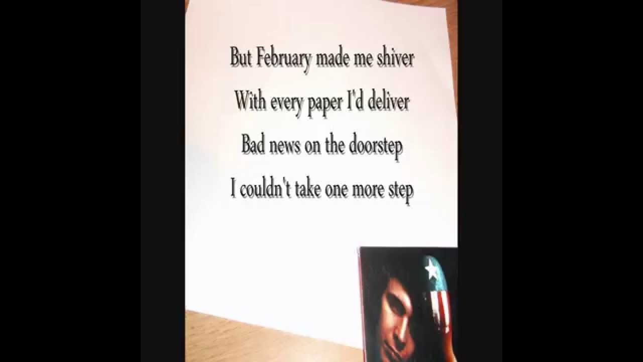 Don Mclean - American Pie (with lyrics) - YouTube