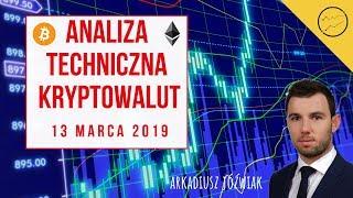 Analiza Techniczna Kryptowalut - 13.03.2019 - BTC, BTG, ETH, Lisk, XRP, LTC, BNB, XLM, NANO, OMG