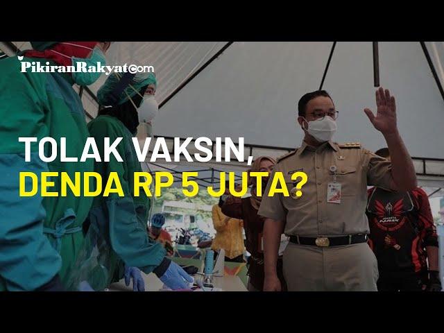 Soal Denda 5 Juta Rupiah Bagi Warga yang Tolak Vaksinasi, Komisi IX DPR: Keputusan yang Kurang Bijak