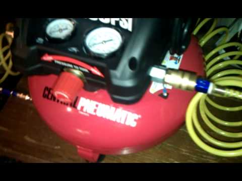 hqdefault central pneumatic oilless air compressor 3 gallon 95275 youtube central pneumatic air compressor wiring diagram at crackthecode.co