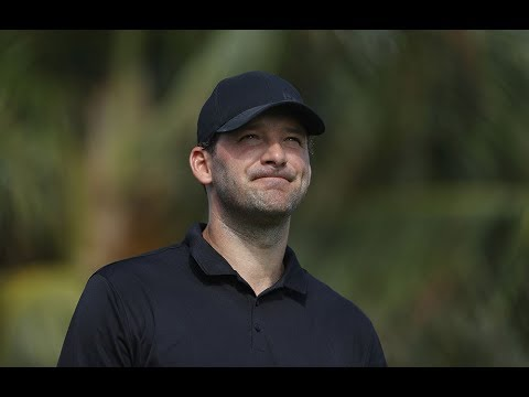Tony Romo, Matt Ryan hit phenomenal shots at Pebble Beach