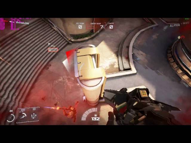Lawbreakers (overwatch do produtor de gears of war) Alpha gameplay on AMD FX6300 GTX 750
