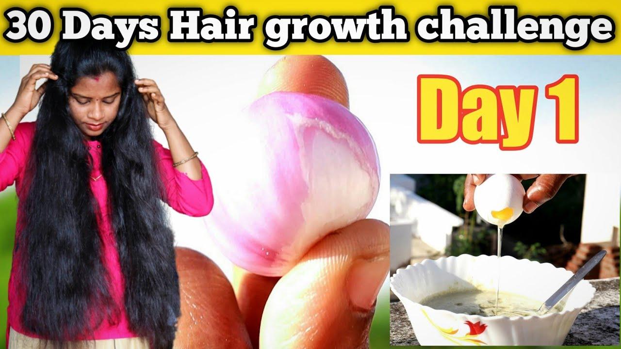 😻Hair growth challenge👍  Hair growth  pack Day1   #Jegathees_meena   தமிழ்