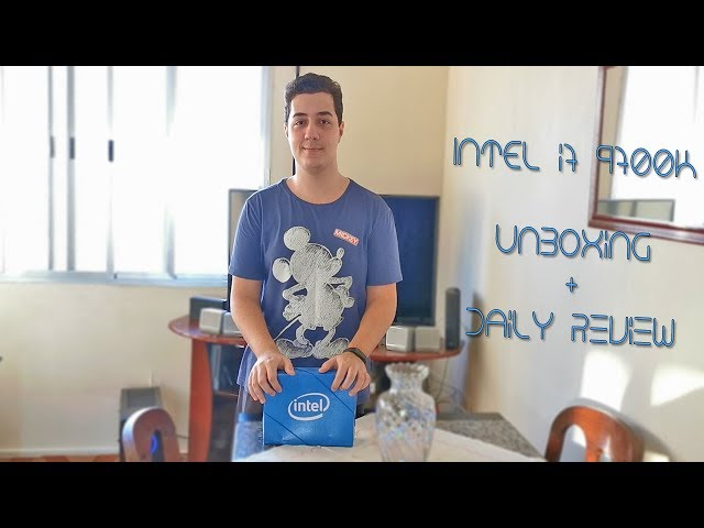 Novo PC Gamer, Intel i7-9700K! - Unboxing + Daily Review!!