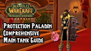 The Tankadin - World of Warcraft: The Burning Crusade Classic - Protection Paladin Maintank Guide