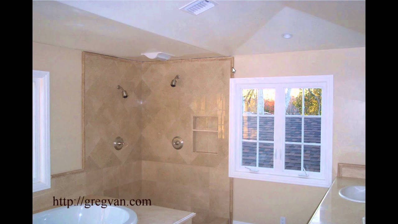 Window Location, Wood Trim And Shower Tile Design Problems   Bathroom  Remodeling Planning   YouTube