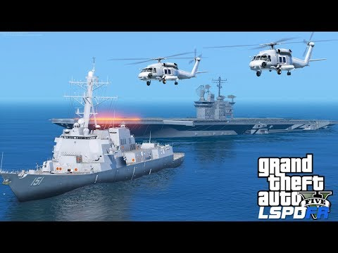 GTA 5 Coastal Callouts | Navy Search & Rescue Seahawks Rescuing Stranded Hurricane Survivors