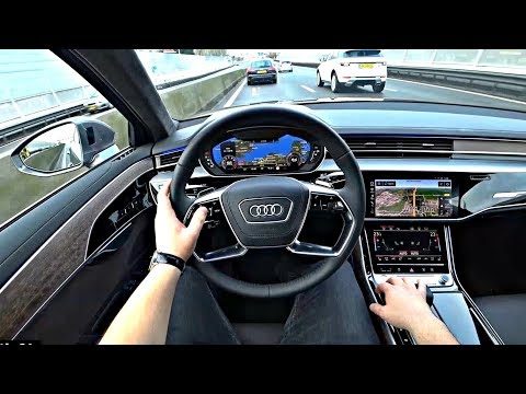 The New Audi A8 2020 Test Drive